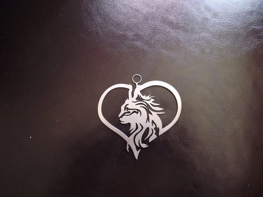 Pendentif chat maine coon
