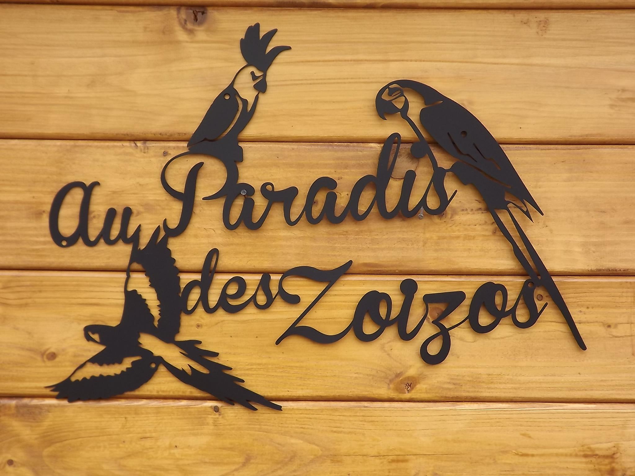 Au Paradis des Zoizos