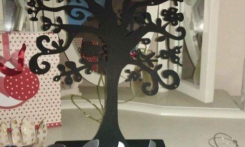 arbre à bijoux personnalisable