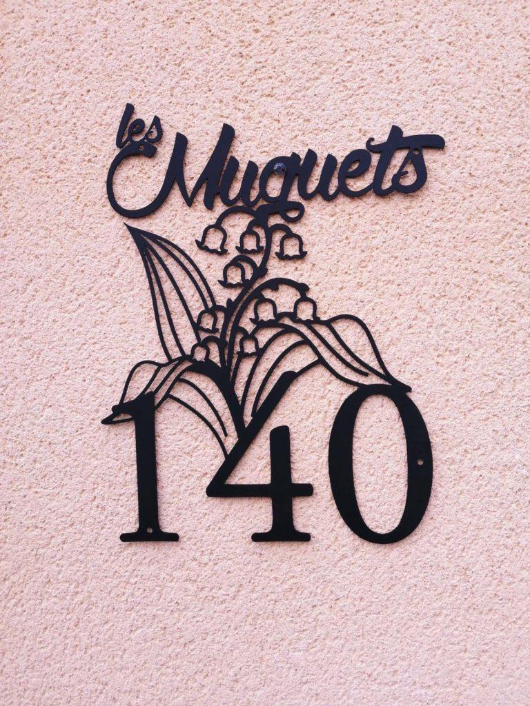 plaque muguet
